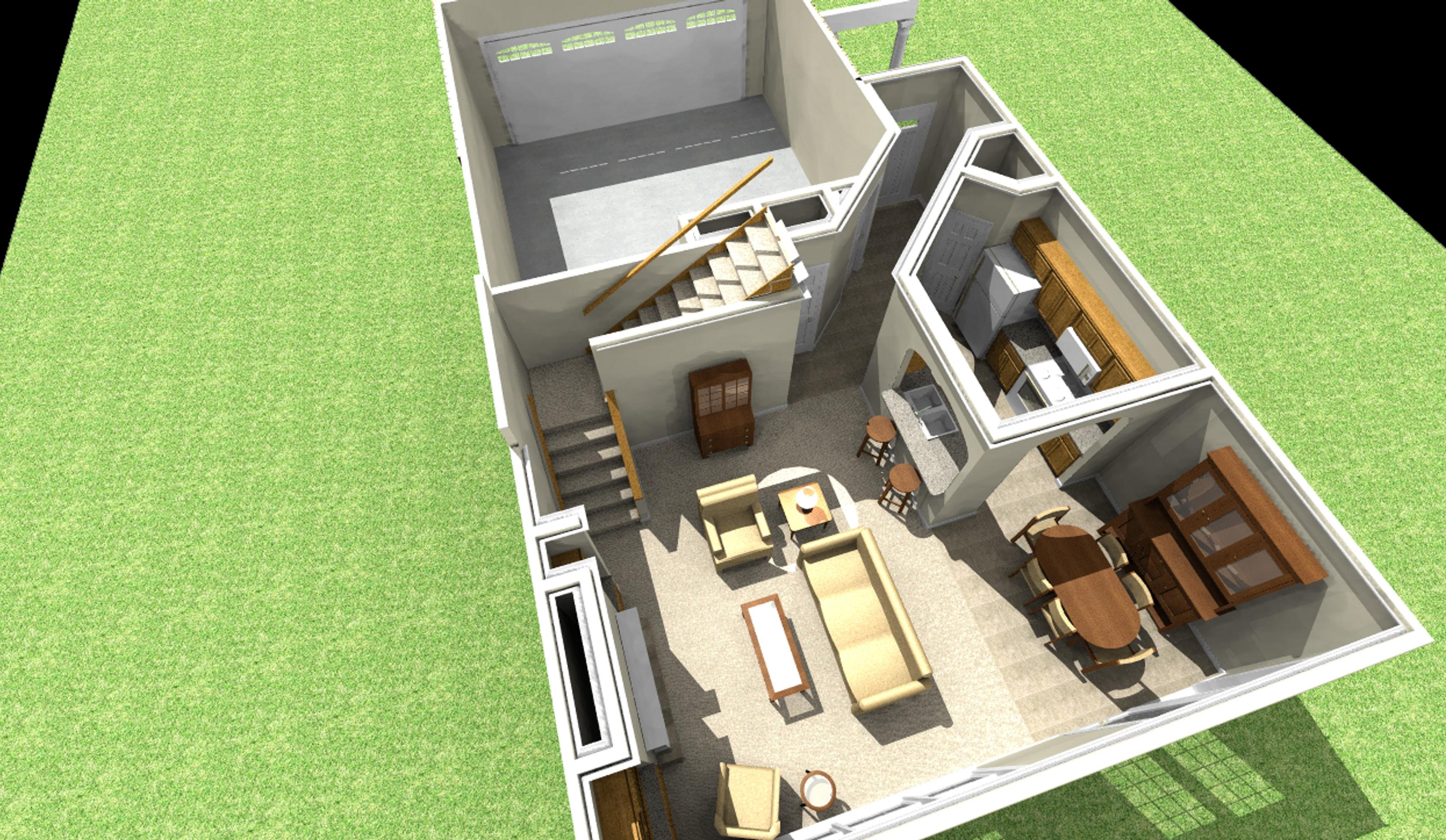 Duplex House, Floor, & Home Building Plans