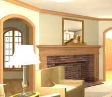 3d rendered interiors