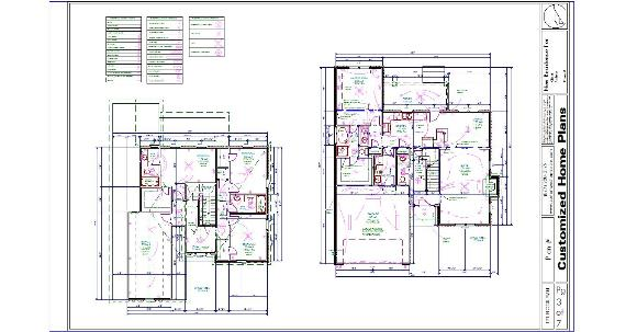 The 45 best complete house plan sample building plans for Plumbing blueprints for my house